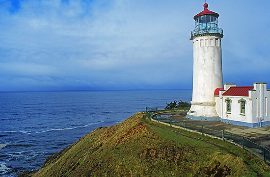 North Head Lighthouse by Rick Montgomery