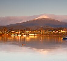 Sunrise at Dover Tasmania #2 by Chris Cobern