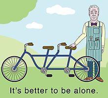 JD Salinger's Tandem Bicycle by amerikas
