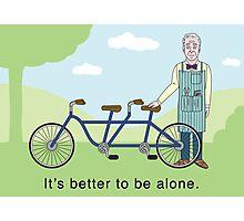 JD Salinger's Tandem Bicycle Photographic Print