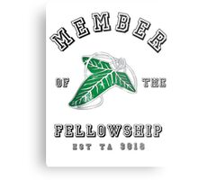 Fellowship (White Tee) Metal Print