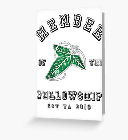 Fellowship (White Tee) Greeting Card