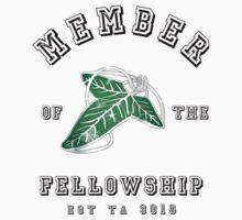 Fellowship (White Tee) by thehappyiceman7