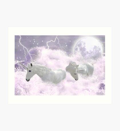 Full Moon Rising Art Print