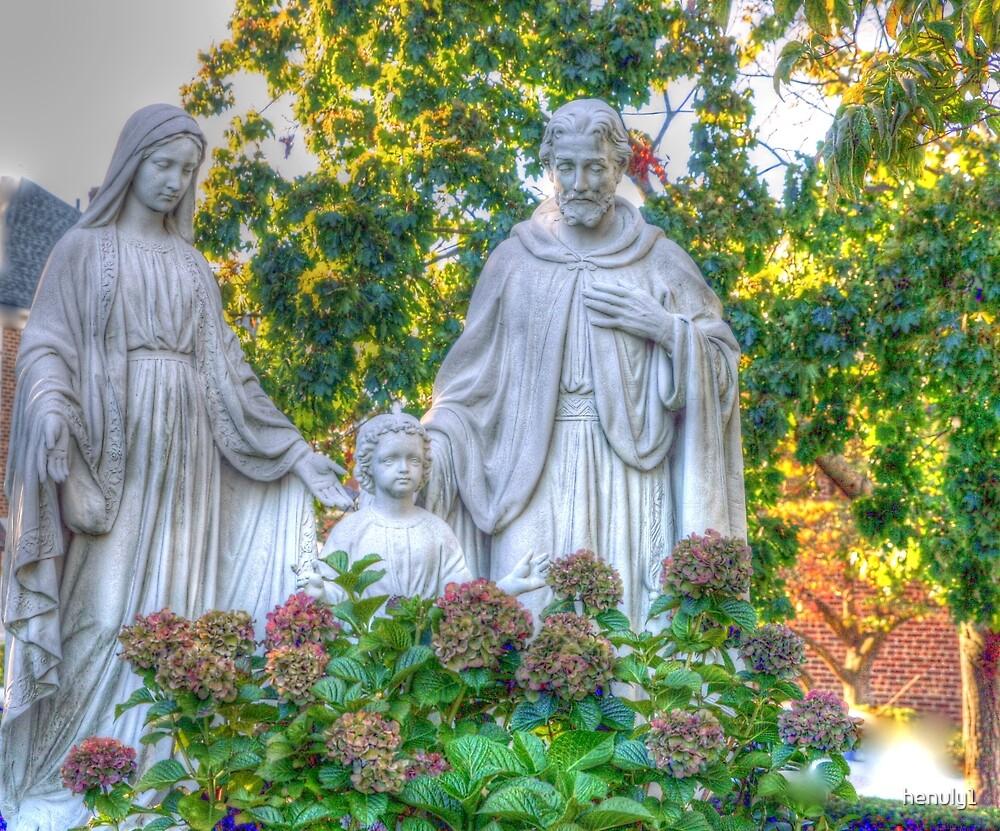 Jesus,Mary and Joseph by henuly1