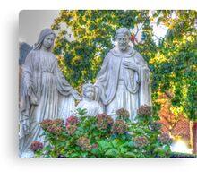 Jesus,Mary and Joseph Canvas Print