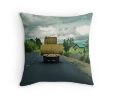 Country Traffic Jam Throw Pillow