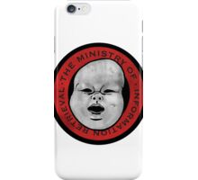 Ministry of Information Retrieval (washed out) iPhone Case/Skin