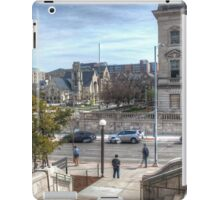 From the Steps of Memorial Union iPad Case/Skin