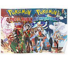 Pokemon Alpha Sapphire/Omega Ruby  Poster