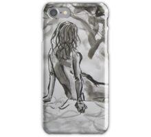 Seated Figure iPhone Case/Skin