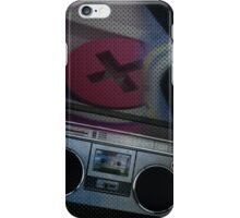Grunge Boom-Box iPhone Case/Skin