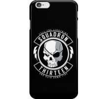 SQUADRON 13 INSIGNIA iPhone Case/Skin