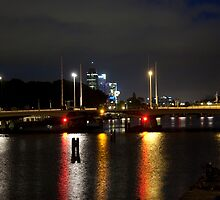 Amstel At Night by phil decocco