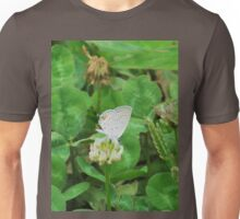 clover and butterfly Unisex T-Shirt