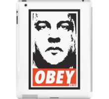 OBEY: CHRIS CHRISTIE iPad Case/Skin