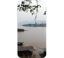 Ruak meets Mekong river at Golden Triangle, Thailand iPhone Case/Skin