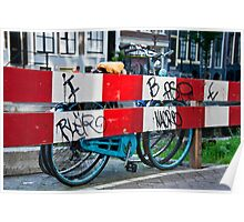 Bicycle Barrier Poster