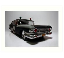Ecto-1 (Pre-Ecto Version) Art Print