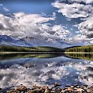 Patricia Lake, Westerly View by Vickie Emms
