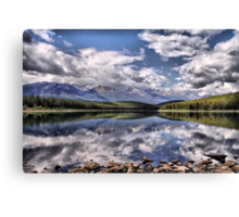 Patricia Lake, Westerly View Canvas Print