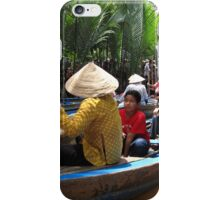 Mekong traffic jam - Vietnam iPhone Case/Skin