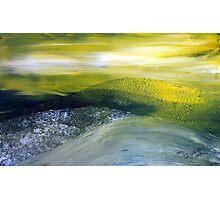 Yellow blanket of canola Photographic Print