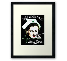 Medical Mary Jane  Framed Print