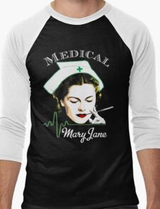Medical Mary Jane  Men's Baseball ¾ T-Shirt