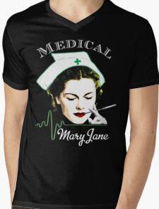 Medical Mary Jane  Mens V-Neck T-Shirt