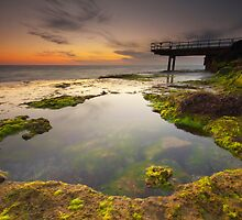 North Beach Jetty II by Jonathan Stacey