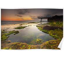 North Beach Jetty II Poster