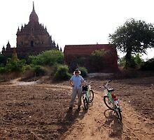 Ebike sightseeing - Bagan, Myanmar by John Kleywegt