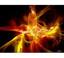Creature Gold Red Photographic Print