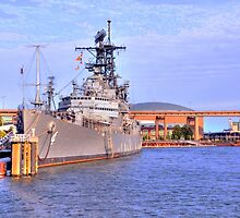 USS Little Rock by Kathleen Struckle