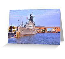 USS Little Rock Greeting Card