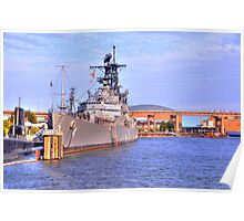 USS Little Rock Poster