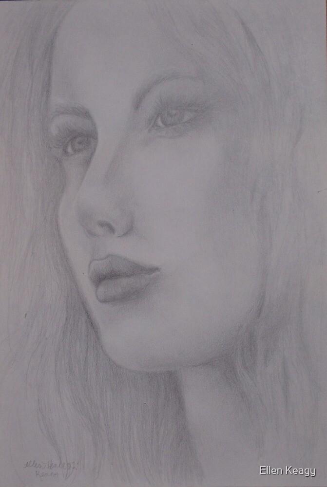 pencil drawing by Ellen Keagy