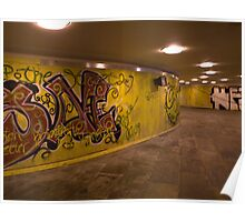 Danmarksplass Pedestrian Tunnel Poster