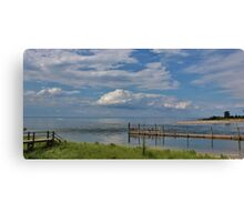 Kings Park Bluff (Panorama) Canvas Print