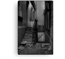 North Terrace Decay Canvas Print