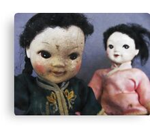 Dolls ll Canvas Print