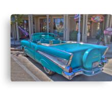 Chevy Bel-Air Convertible Metal Print