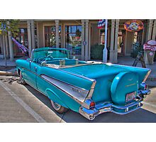 Chevy Bel-Air Convertible Photographic Print