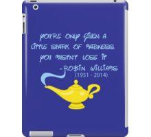 Robin Williams quote iPad Case/Skin
