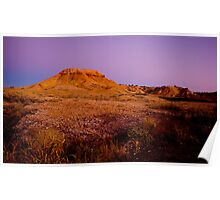 Painted Desert Pre dawn Poster