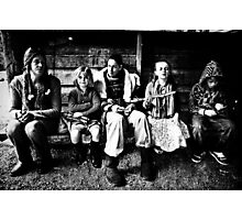 'Forrest People' Photographic Print