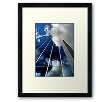 Cloud-tecture Framed Print