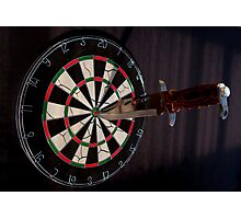 Bulls Eye Photographic Print