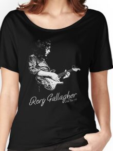 Rory Gallagher Irish tour 74 Women's Relaxed Fit T-Shirt
